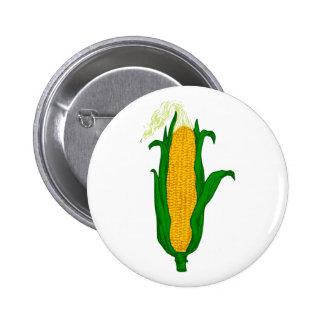 Corn ear of corn corn cob button