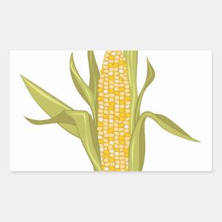 Corn Ear Rectangular Sticker