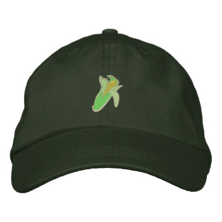 Corn Embroidered Baseball Hat
