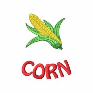 Corn Embroidered Polo Shirt
