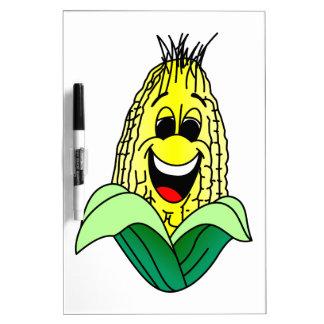 Corn Face Dry Erase Board