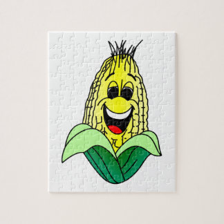 Corn Face Jigsaw Puzzle