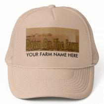 Corn Farm Trucker Hat