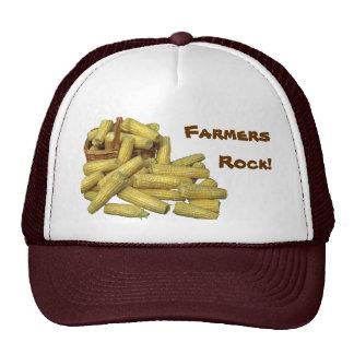 Corn Farmers Rock! Trucker Hat