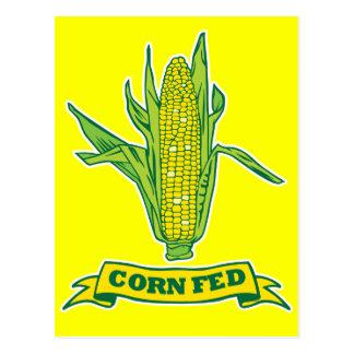 Corn Fed Postcard