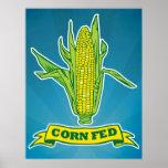 Corn Fed Print
