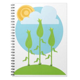 Corn Field Notebook