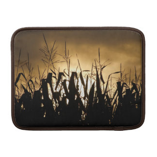 Corn field silhouettes MacBook sleeve