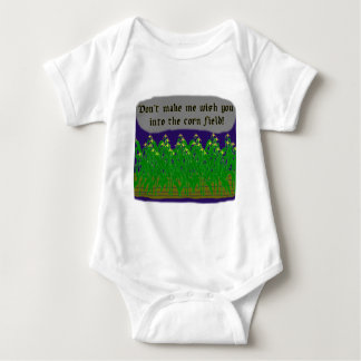 Corn Field Wish Baby Bodysuit