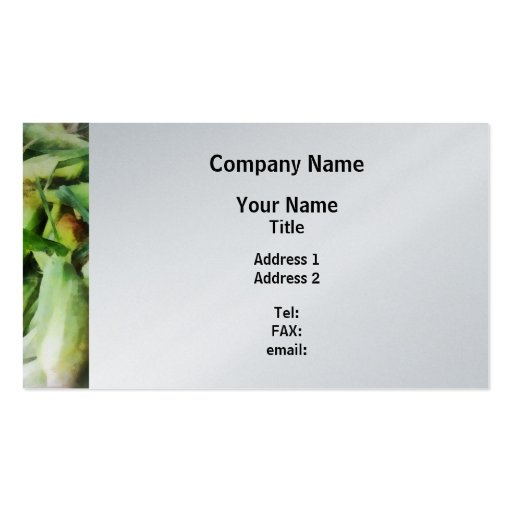 Corn For Sale Business Card Templates