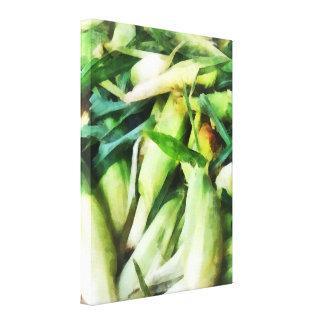 Corn For Sale Canvas Print