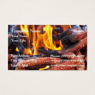 Corn fuel business card
