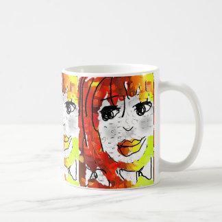 Corn girl 2 coffee mug