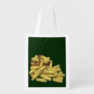 Corn Harvest Grocery Bag