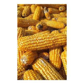 Corn Harvest Stationery Design