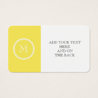 Corn High End Colored Personalized Business Card