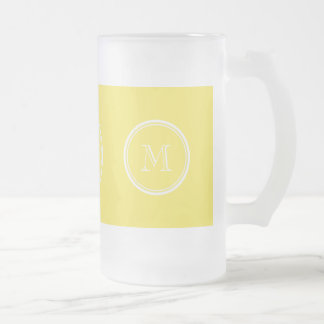 Corn High End Colored Personalized Frosted Glass Beer Mug