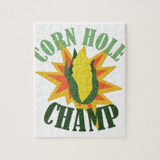 Corn Hole Champ Jigsaw Puzzle