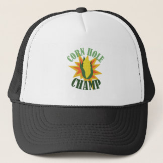 Corn Hole Champ Trucker Hat