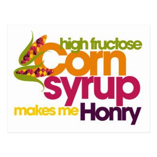 Corn Humor Postcard