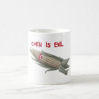 corn is evil2 coffee mug