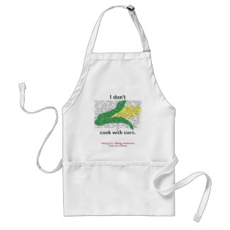 Corn is in everything - corn allergen list adult apron