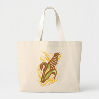 Corn Large Tote Bag