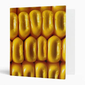 Corn Macro Vinyl Binder