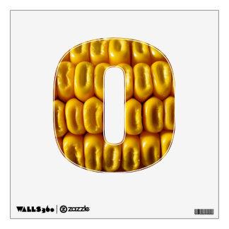 Corn Macro Wall Decal