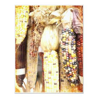 Corn of Many Colors Invitation