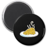corn on a plate refrigerator magnets