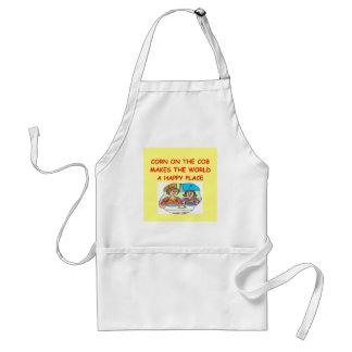 corn on the cob apron