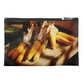 Corn on the Cob at Outdoor Market Travel Accessory Bags