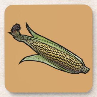 Corn on the Cob Drink Coaster