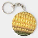 Corn on the cob key chain