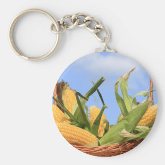 Corn on the Cob Keychain