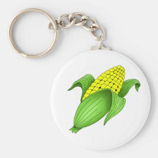 Corn On The Cob Keychain