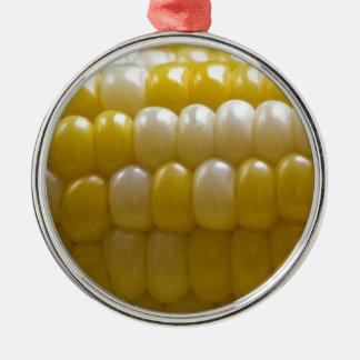 Corn On The Cob Metal Ornament