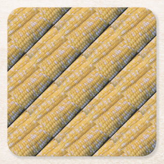 Corn on the Cob Party Supplies Square Paper Coaster
