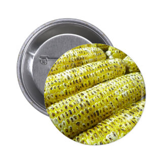 Corn on the Cob Pinback Button