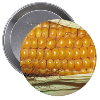 Corn on the Cob Pinback Buttons