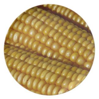 Corn on the Cob Dinner Plate