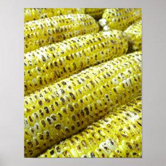Corn on the Cob Print