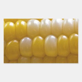 Corn On The Cob Rectangular Sticker