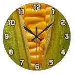 Corn on the Cob Wallclock