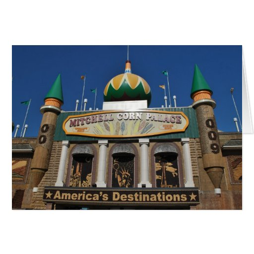 Corn Palace collection Greeting Cards