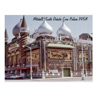 Corn Palace Mitchell South Dakota Postcard