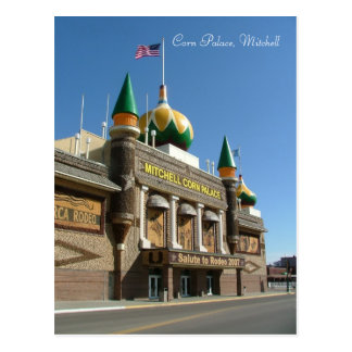 Corn Palace Postcard