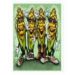 Corn Party Postcard