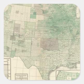 Corn per acre planted square sticker